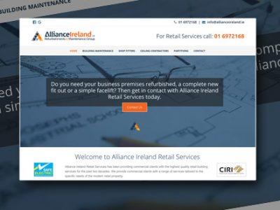 Retail Services Website